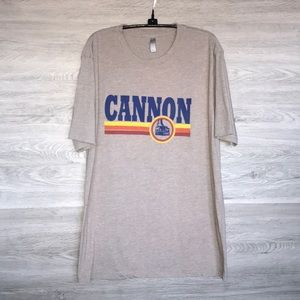 NWOT- Men's Cannon SS Graphic Ski Tee, XL